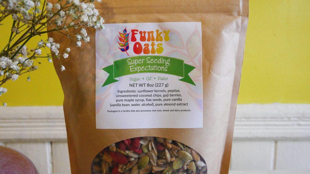 paleo, vegan, gluten-free granola, healthy snack